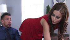 Muscled boss and his horny assistant - video 2