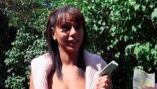 Tanned honey gets picked up - video 2