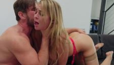 Submissive Blair Williams gets used for real - video 4