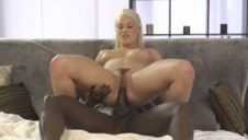 Huge penis of black guy has to be deep inside in Blanche Bradburry