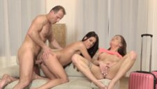 DADDY4K. Old dad cheats on wife by having fun with...